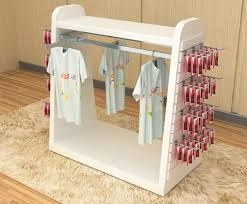 Baby Clothes Display Stand Color Printed Children'S Clothing Display Racks Baby Clothes 13