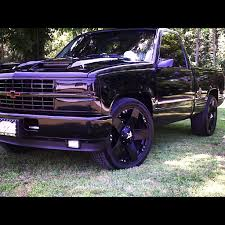 All Chevy 94 chevy stepside : 93 Chevy if he blacks out the truck. | Zoom Zoom | Pinterest ...