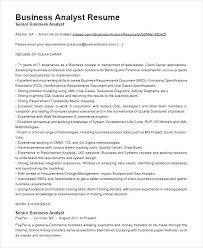 Business Analyst Resume Objective Example Samples Examples Indeed
