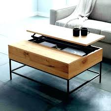 mid century pop up coffee table designed by rejuvenation sconce by mid century pop mid century