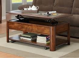 lift top small coffee table with storage drawers