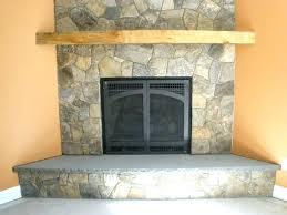 stone veneer over brick fireplace installing faux