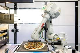 Automated Pizza Maker Vending Machine Impressive Zume Pizza Lands 48 Million In Funding For Robotic Pizza Delivery