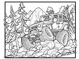Small Picture Jeep Car Coloring Pages Coloring Pages