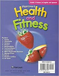 Buy Harcourt Health Fitness Posters Grade 6 Book Online