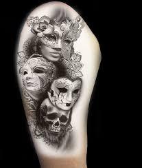 Tetovací Maska 100 Nejlepších Miniatur Fotografií Význam A Variace