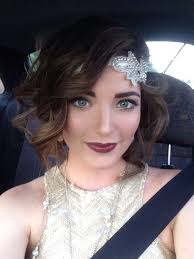 1920s hairstyles for long hair tutorial marvelous my modern take on 20s makeup for my work christmas party ccw