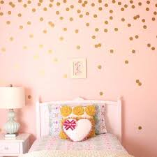 golden wall sticker gold polka dots wall sticker baby nursery stickers children room decals home golden wall sticker