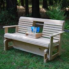 view larger outdoor glider bench r43
