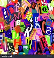 ransom letter generator magazine letter font new magazine letters collage seamless vector