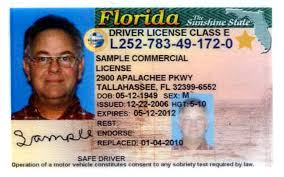 You License Driver Office Id … Florida To A Example Flickr When Go