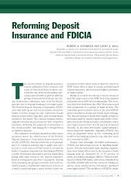 Al, la, sc, tx, via a partnership with sagesure insurance managers. Pdf Reforming Deposit Insurance And Fdicia
