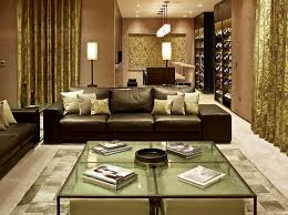 Inspiration for a contemporary open concept living room remodel in London  with beige walls and no