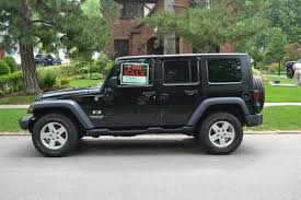 2008 black jeep wrangler 43 000 miles 4 door w hard top us 21 000 00
