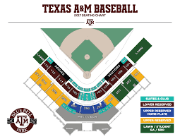 Aggie Baseball Seating Chart Olsen Field Seating Chart