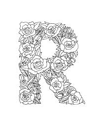 r coloring page letter r g page pages stock b preschool d coloring pages mandala