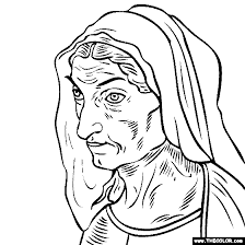 Collection of coloring pages for teenage printable that you can download and print. Famous Paintings Coloring Pages