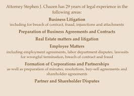 Law Offices Of Stephen J. Chazen