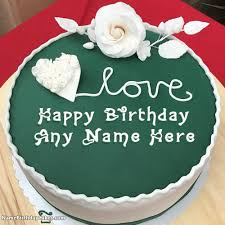 Happy Birthday Cakes With Name And Photo Unique Ideas