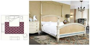 renew your bedroom area rug with two legs of the bed placed on top
