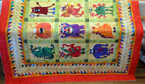 Little House Creations: Is it Saturday - again? already? & Rose's Monster Quilt (Sue Garman Pattern) Adamdwight.com