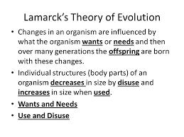 Theory Of Evolution Darwin Vs Lamarck Texas Horned Lizard