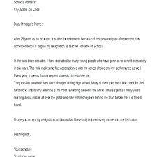 retirment letter resignation retirement letter retirement resignation early