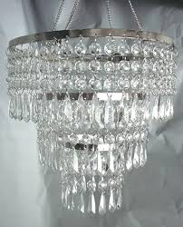 5 tier crystal chandelier 3 tiered crystal acrylic chandelier 1920s odeon clear glass fringe 5 tier