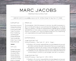 Modern Resume Template Free Download Template Of Business Resume