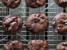 gooey double chocolate chip cookies. Contemporary Gooey Chewy Double Chocolate Chip Cookies With A Sprinkle Of Sea Salt The  Ultimate Sweet And Intended Gooey F