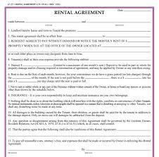 Rental Agreement Form 11 Free Documents In Word Pdf Threeroses Us