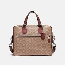 COACH Official Site Official page HUDSON 5 BAG IN SIGNATURE CANVAS