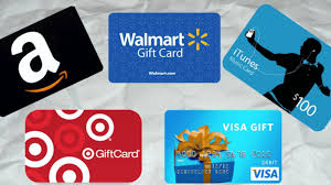 gift card retailers