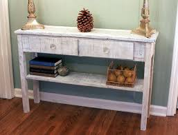 hallway entry table. Image Of: Narrow Hallway Table Distressed Wood Entry R