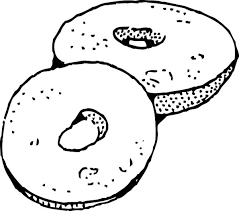 Small Picture Donuts Junk Food Coloring Page Download Print Online Coloring