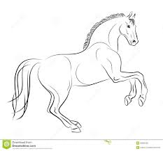 running horse drawing. Exellent Drawing Running Horse And Horse Drawing