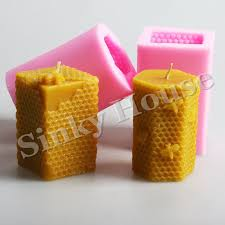honeycomb silicone molds clay candle molds for diy candle free silicone candle soap molds