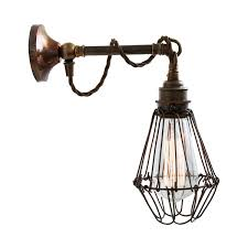 industrial cage lighting. Picture Of Edom Industrial Cage Wall Light Lighting E