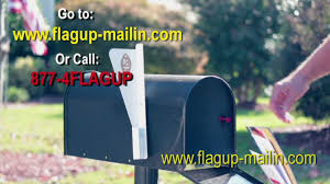 brick mailbox flag. Flag Up-Mail In Commercial Brick Mailbox H