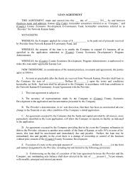 It is wise to follow a template to get an idea of what should be included and what should be avoided in a loan. 40 Free Loan Agreement Templates Word Pdf ᐅ Templatelab