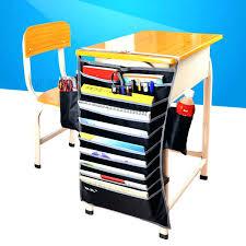 under desk organizer hanging desk organizer school desk table hanging file book tidy organizer rack
