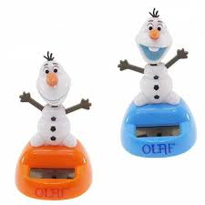 get ations disney frozen olaf solar powered mini toy 3 h adorable relaxing solar toy