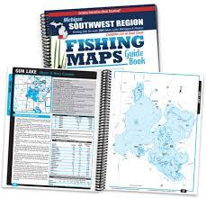 Southwest Michigan Fishing Map Guide Print Edition
