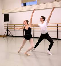 doug mcclure s views on ballet life sab student nieve corrigan and nathan compiano in the eliza blutt work