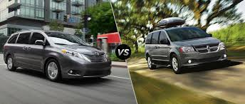 2015 Toyota Sienna vs 2015 Dodge Grand Caravan