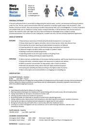 Good Nursing Cv Examples Best Of Rn Resume Templates Nursing Resume