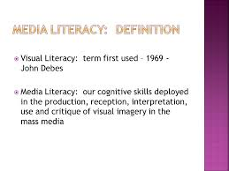 Visual Literacy Definitions