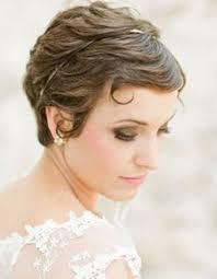 Coiffure De Mariage Cheveux Court Cheveux Naturels