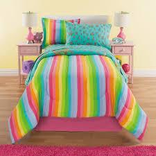 full size of bedding design com rainbows unicorns girls twin comforter set piece mainstays