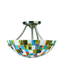 coloured glass flush ceiling lights gradschoolfairs throughout stained glass ceiling light fixtures